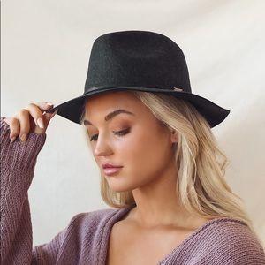 New Brixton Wesley Felt Fedora Hat